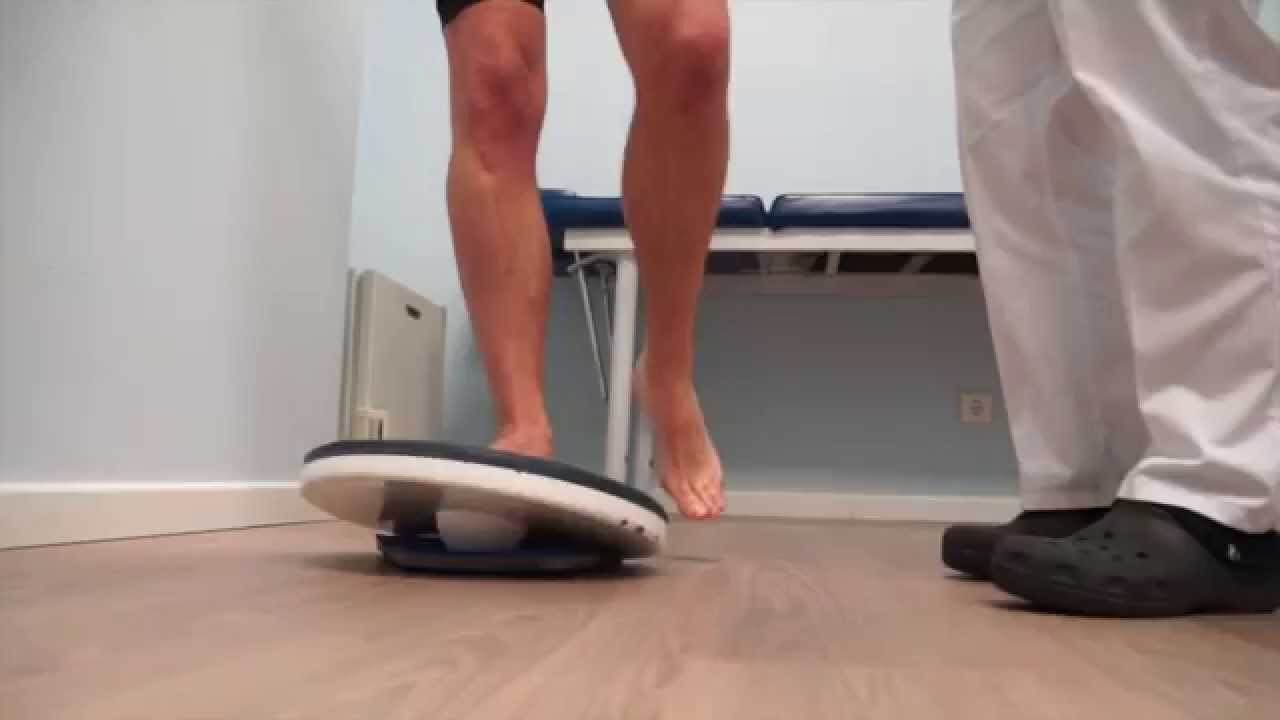 Como curar un esguince de tobillo cronico