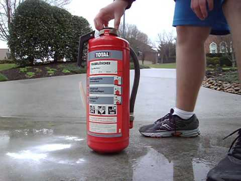German Dry Chemical Fire Extinguisher (ABC type)