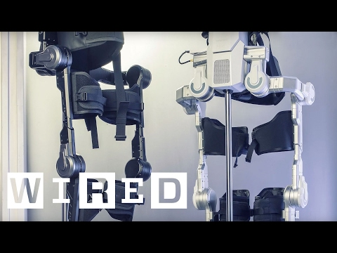 Hyundai's Exo-Skeleton Makes Everyone an Iron Man   WIRED