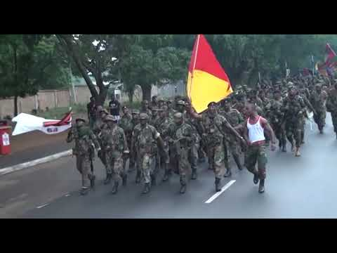 Ghana Armed Forces Celebrate Army Week 2019 With a 10km Route Match