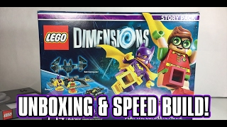 LEGO Batman Movie Story Pack - LEGO Dimensions Unboxing - Robin, Batgirl & Bat Computer!