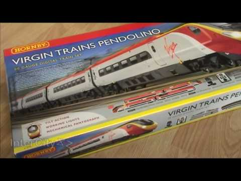 Opening the Virgin Pendolino from Hornby