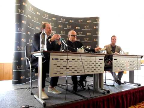 World Soundtrack Awards 2011 - Press Conference 2 - Zimmer on Moroder
