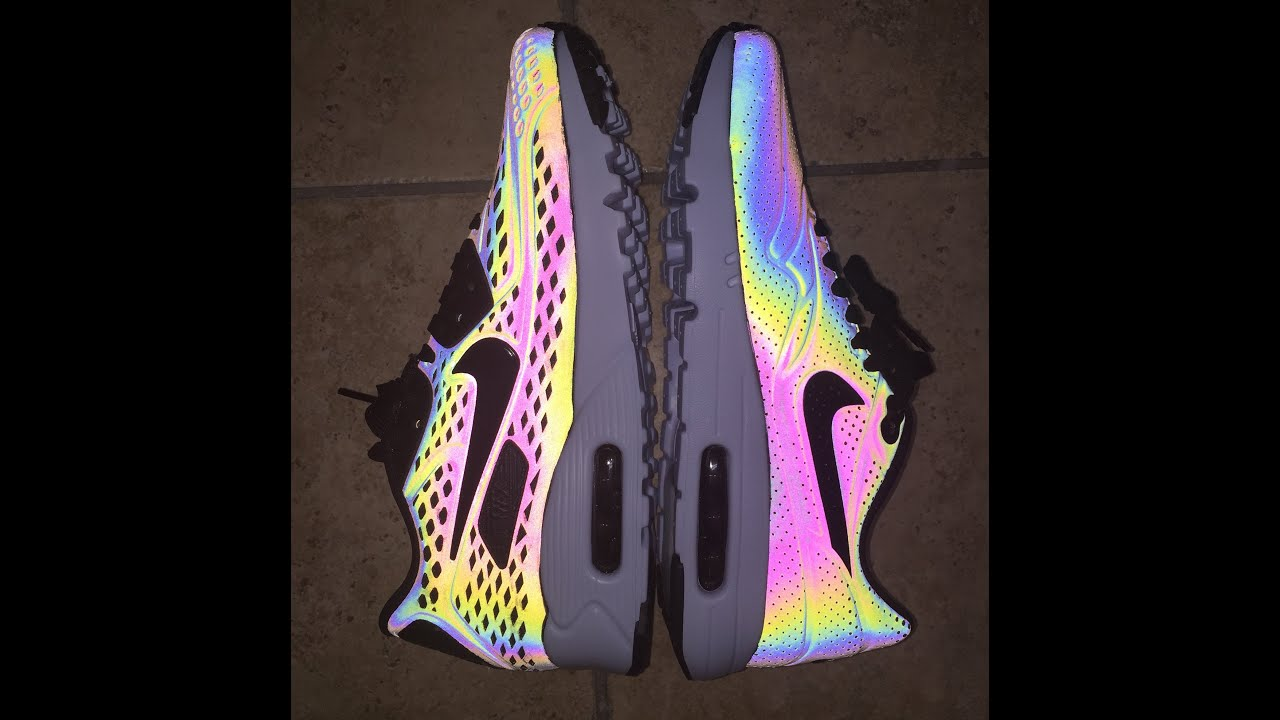 Nike Air Max 90 Ultra Moire Qs Iridescent Holographic