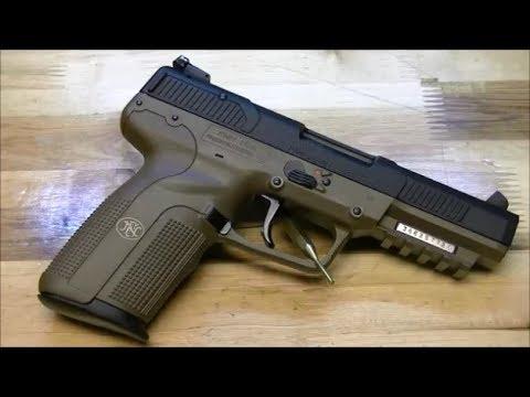 Пистолет FN Five-seveN: детальный обзор