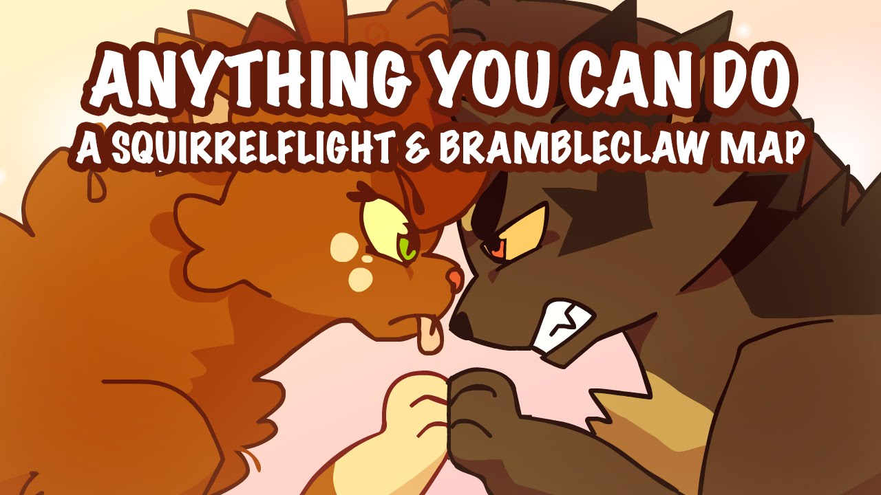 Anything You Can Do Completed Map Brambleclaw And Squirrelflight