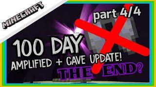 minecraft 100 วัน  amplified+cave update 4/4