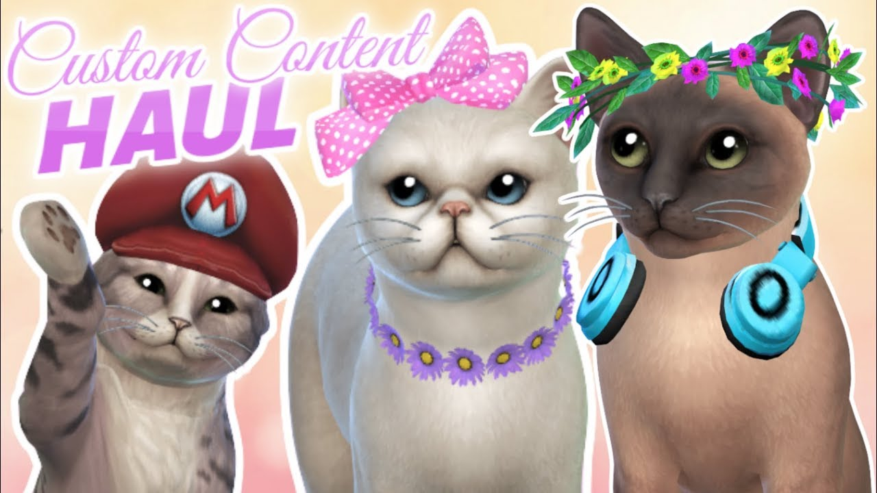 Cats And Dogs Custom Content Sims