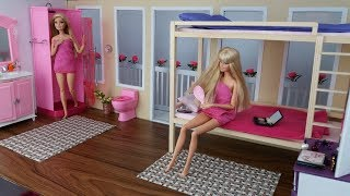 Barbie Sisters morning routine in a Dream house. Workout in the fresh air