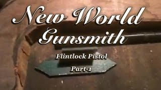 "Building a flintlock pistol from scratch- Part 1 of the DIY ""smoke stick"""