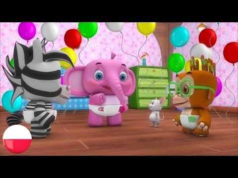 Tra La Tra La Tra La La | Polskie Piosenki Dla Dzieci | Kołysanki | Przedszkolnym Piosenki |Rymy 3D
