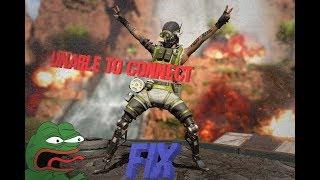 """Apex Legends FIX """"unable to connect"""" FX-6300"""