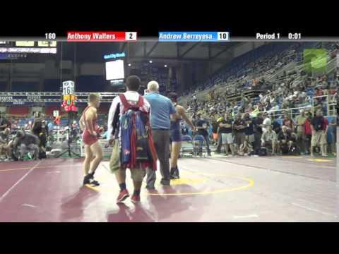 160 Anthony Walters vs. Andrew Berreyesa