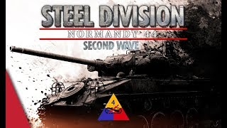SECOND WAVE DLC 4th Armored Georgie s Boys - Steel Division Normandy 44 Battlegroup Preview 2