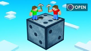 Opening GIANT CHANCE BLOCKS in Minecraft! (high risk)