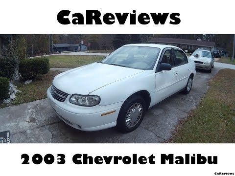 2003 Chevrolet Malibu | Read Owner and Expert Reviews