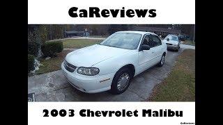 CaReviews: 2003 Chevrolet Malibu
