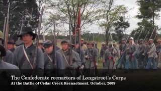 The Rebel Yell Lives: Part II - Reenactors Charge Forward