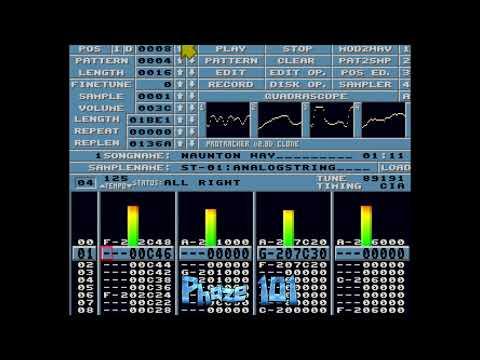 Amiga Protracker Music Module - Naunton Way - Phaze 101