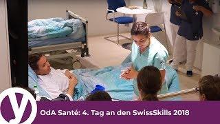OdA Santé: 4. Tag an den SwissSkills 2018