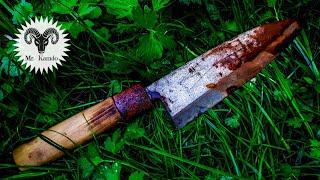 Japanese Kitchen Knife Restoration | Step By Step