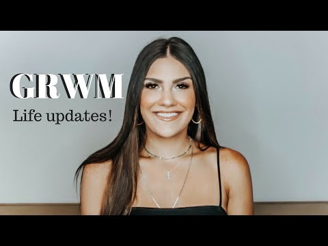 GRWM Wedding, New House and Life Update  Jenna Berman