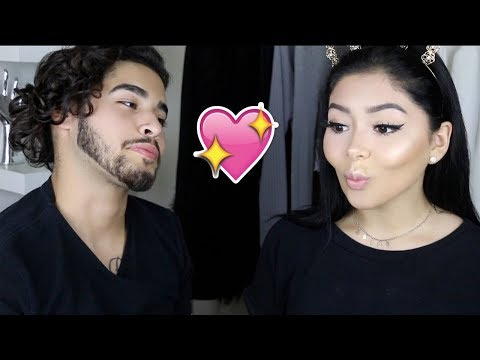 Download Youtube: Boyfriend Does My Makeup Challenge | Daisy Marquez