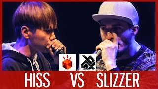 HISS vs SLIZZER  |  Grand Beatbox SHOWCASE Battle 2017  |  1/4 Final
