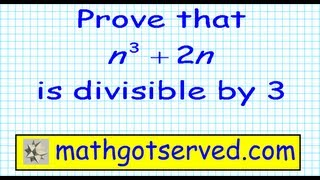 #5 Principle of mathematical Induction n3+2n is divisible by 3 divides discrete n^3+2n pt VIII