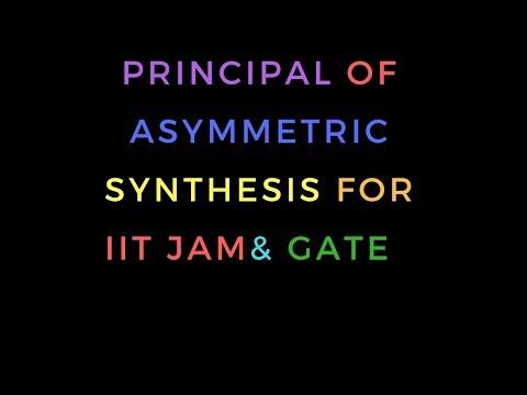 #Principal Of Asymmetric Synthesis|#Asymmetric Synthesis|GATE-CHEMISTRY|IIT JAM|UGC-NET CHEMICAL SC.