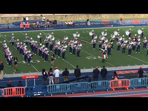 Morgan State University Marching Band Performance 2017