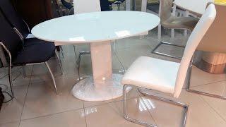 Купить стеклянный стол.  Стол раскладной B2332 1