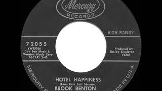 Gambar cover 1962 HITS ARCHIVE: Hotel Happiness - Brook Benton
