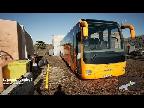 TOURIST BUS SIMULATOR - PICKING UP PASSENGERS !  GAMEPLAY 1440P 60FPS  