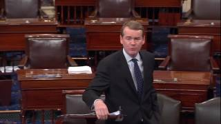 Sen. Michael Bennet Takes to Senate Floor During Senate Health Care Debate