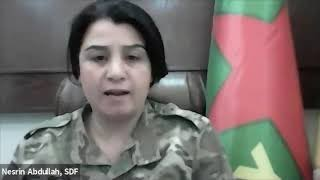 COVID-19 & Ceasefire: Nesrin Abdullah, Syrian Democratic Forces