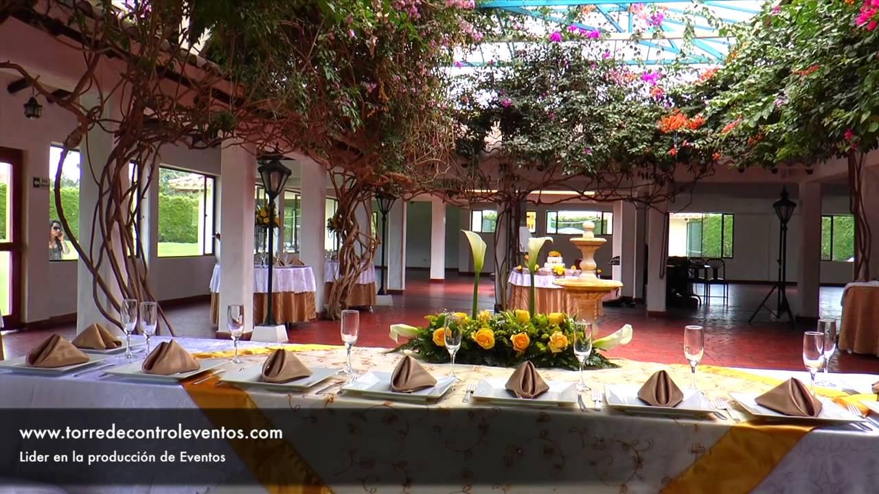 Hacienda campestre boda bogota torre de control eventos for Decoracion boda campestre