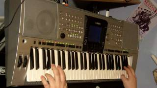 "MADNESS. SOLO ""NUTTY THEME"" ON KEYBOARD. .MIKE BARSON"