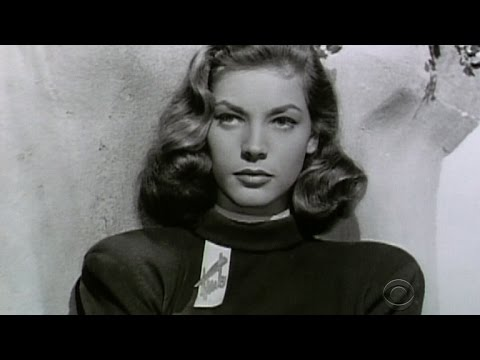 Lauren Bacall passes away at 89 - YouTube