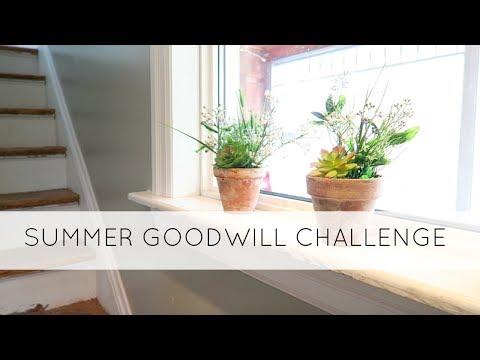 $5 Goodwill Challenge | Summer 2017