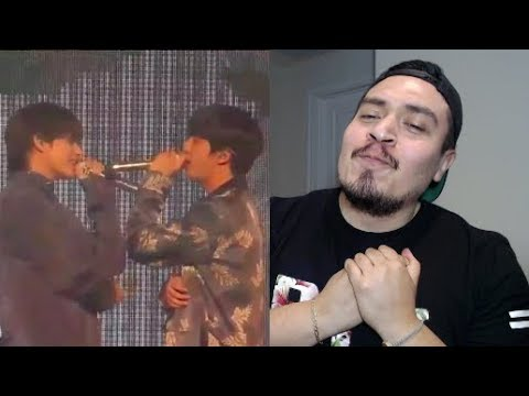 BTS V/TAEHYUNG & JIN Even If I Die It's You Live Reaction