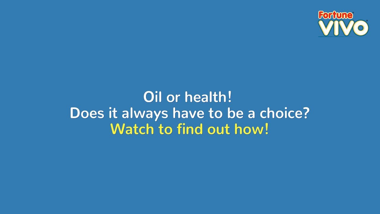 Fortune VIVO Oil | Healthy Cooking Oil | Fortune foods