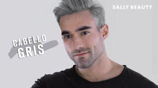Cabello Gris Para Hombre Youtube