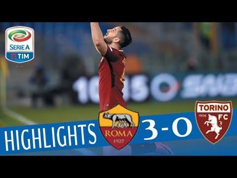Roma - Torino 3-0 - Highlights - Giornata 28 - Serie A TIM 2017/18