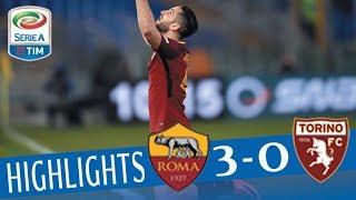 Roma - Torino 3-0 - Highlights - Giornata 28 - Serie A TIM 2017/18 streaming