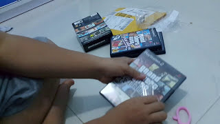 Unboxing Grand Theft Auto Trilogy ps2 [bahasa indonesia]