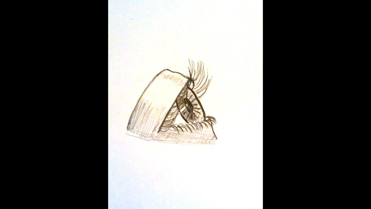 Tutorial zeichnen lernen das auge von der seite zeichnen for Sofa von der seite