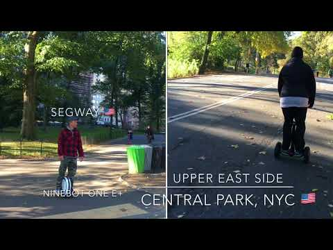 Ninebot by Segway to Ronald McDonald Charity Race at Central Park, NYC (4K) 🇺🇸
