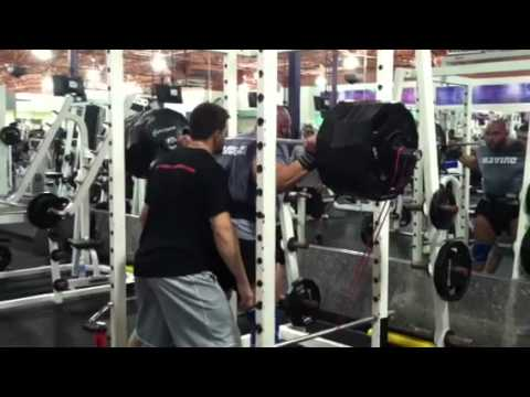 Download BJ Whitehead 600x2 Raw Squats against Bands