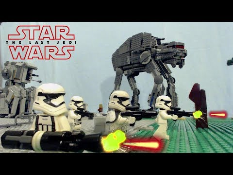 LEGO Star Wars the Last Jedi:  Battle at the First Order Prison Base